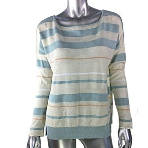 Anthropologie Sparrow Striped Sweater